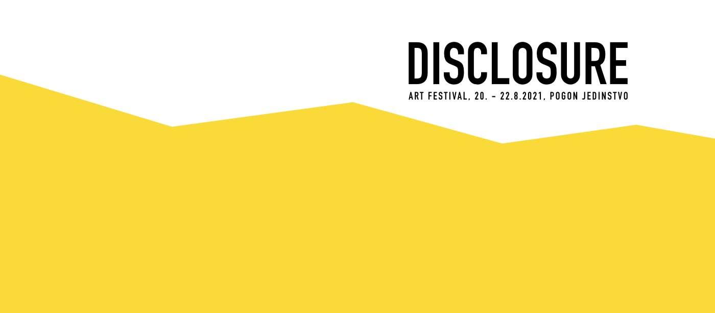 Disclosure: otvoren poziv za izlaganje na umjetničkom festivalu