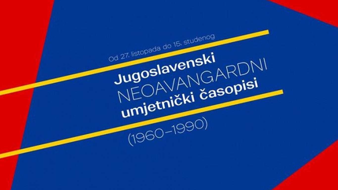 Jugoslavenski neoavangardni umjetnički časopisi