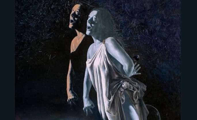 Otvorenje izložbe 'Moderna mitologija' akademskog slikara Ivana Paulića u Galeriji KCM