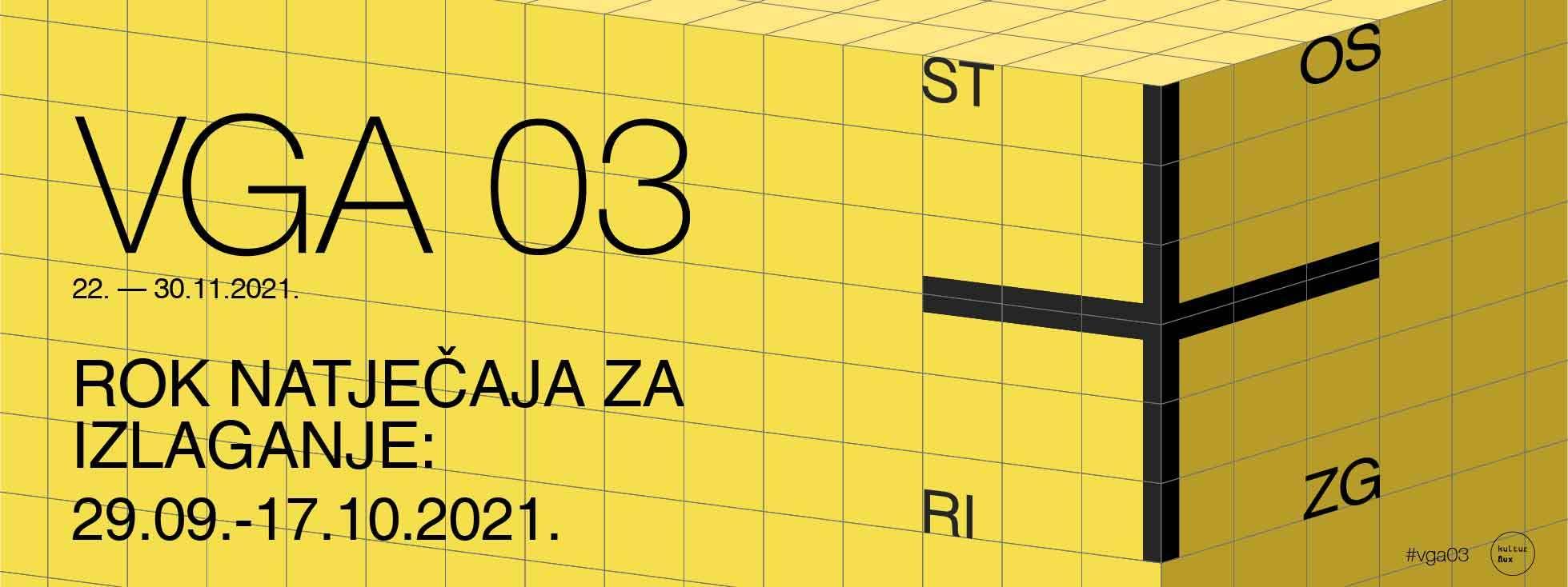 VGA 03 – otvoren poziv za sudjelovanje