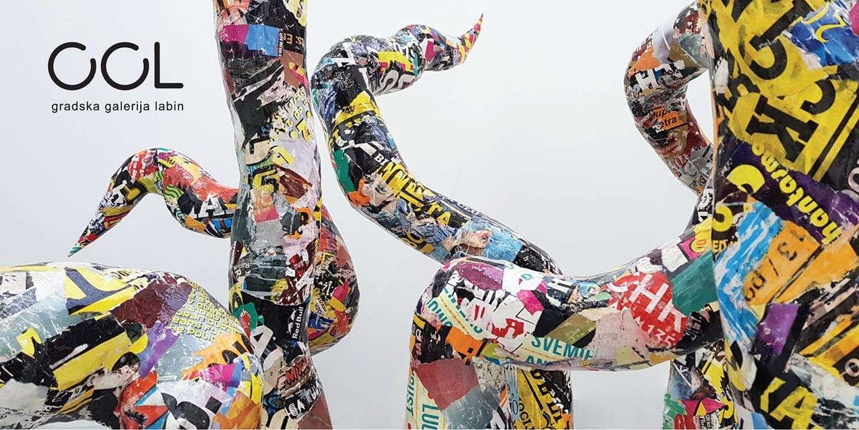 """Izložba """"Ostatci današnjice"""" Lorene Almaši u Gradskoj galeriji Labin"""
